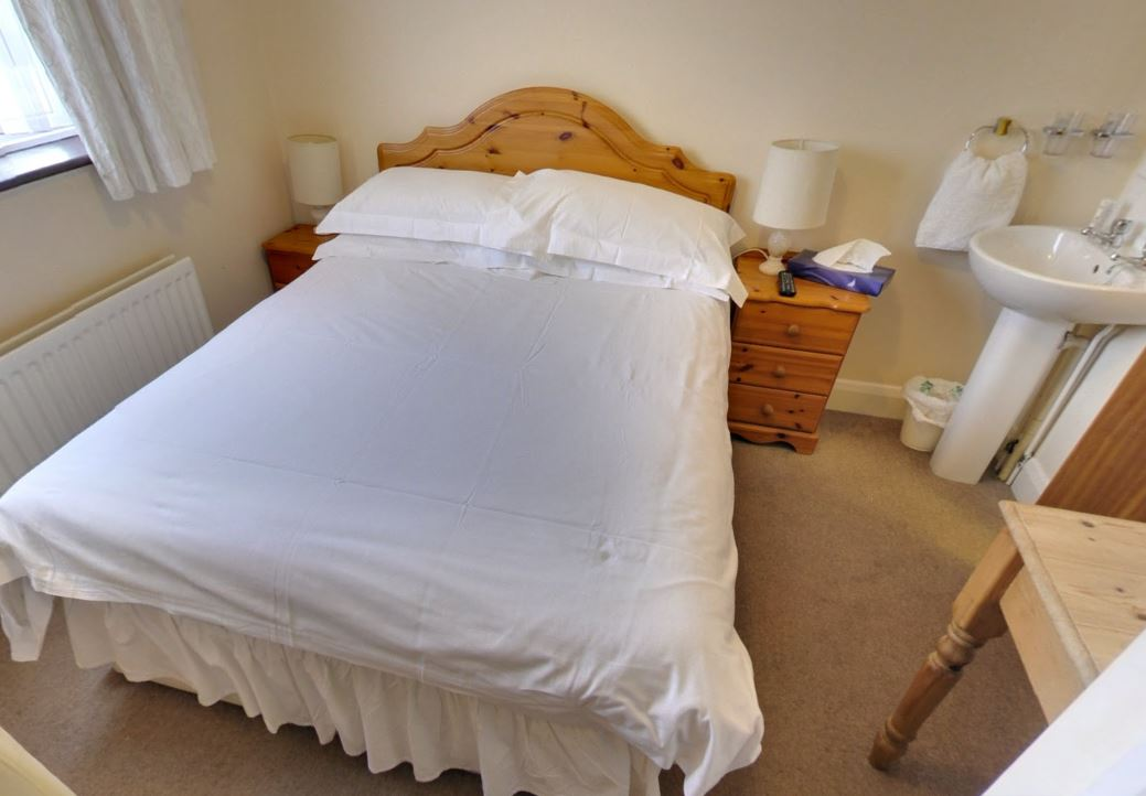 spacious double bedroom